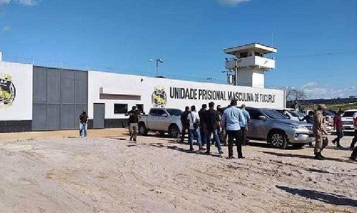 AMPLIAÇÃO NA UNIDADE PRISIONAL MASCULINA DE TUCURUÍ É INAUGURADA