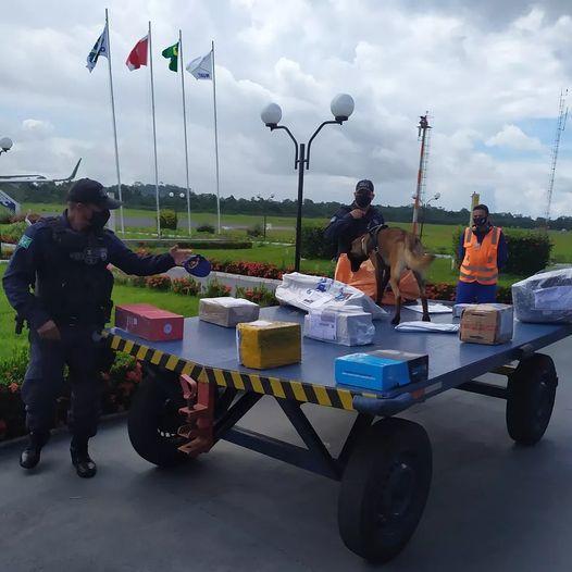 POLÍCIA FEDERAL REALIZA FISCALIZAÇÃO EM AEROPORTO DE ALTAMIRA